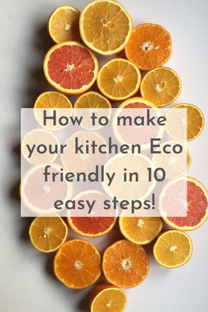 how to make your kitchen eco friendly
