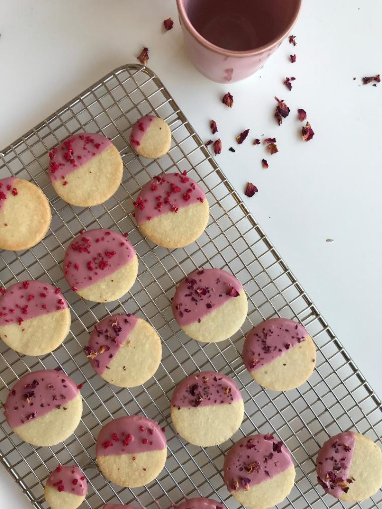 ruby butter cookies