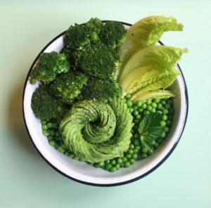Green buddha bowl